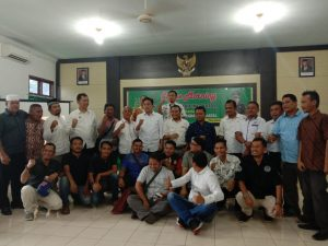 Wartawan dan Kajaksaan Negeri Madina/ foto Dita