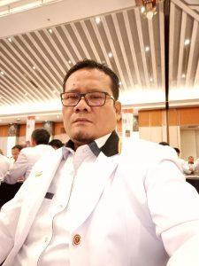 Ketua Fraksi PKS Madina Ahmad Budiman Borotan. SS