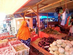 Pasar sayur Panyabungan