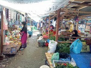 Pasar sayur di Pasar Baru/ dita risky