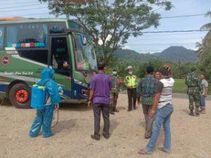 Bus ALS di Posko