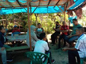 Muspika dan Polisi - TNI di Bukit Malintang