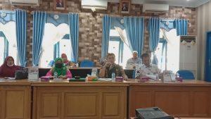 Rapat Komisi IV DPRD Madina