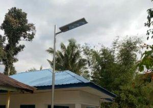 Lampu DD tahun 2020 di Kec. Tambangan/ mh